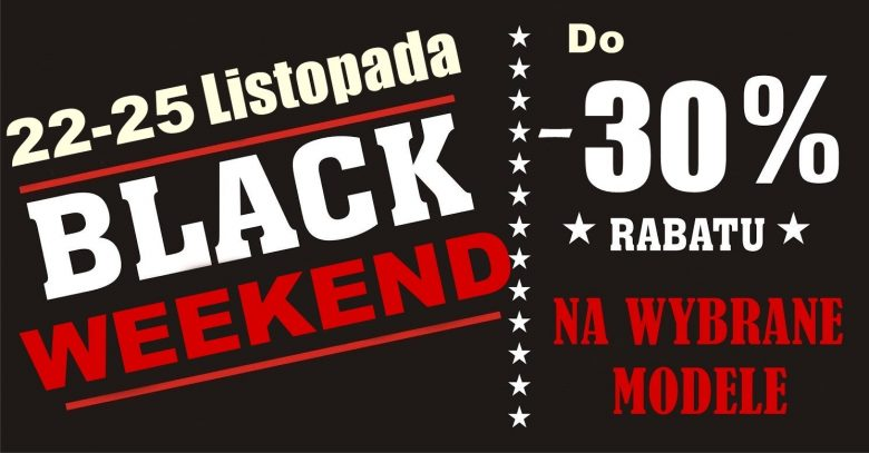 BLACK WEEKEND ‼
