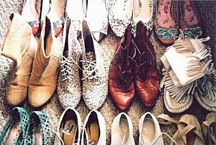 Myślę, że powinnaś wyrzucić te buty