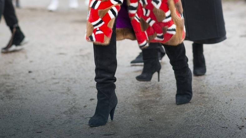 Buty na jesień wydłużające nogi