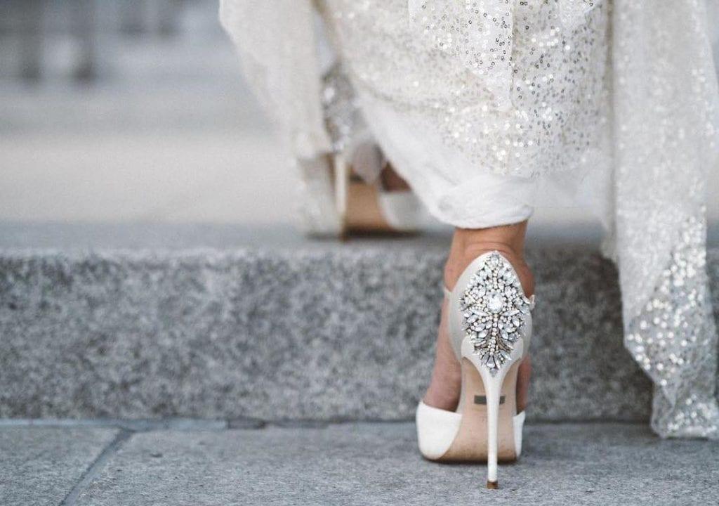 Dobór i wykonanie butów weselnych.