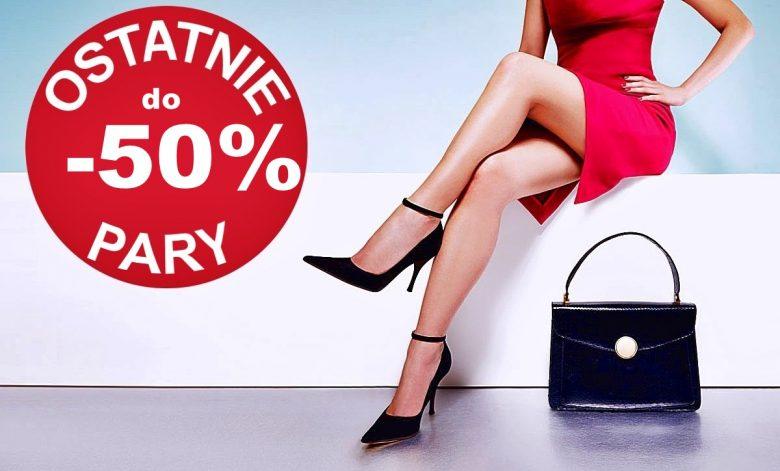 OSTATNIE PARY ‼ do -50% !!