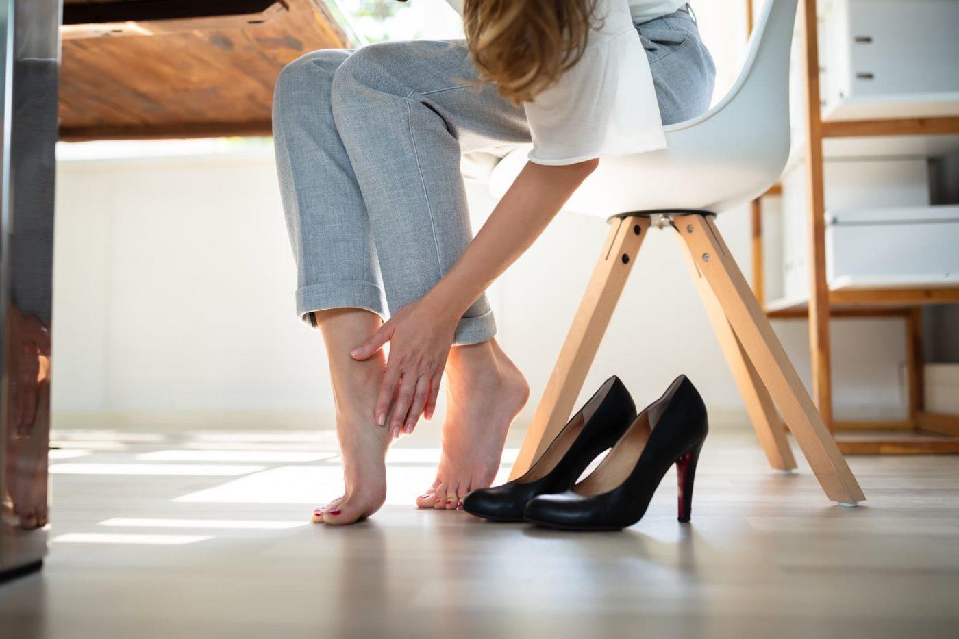 Jak zabezpieczyć stopy przed obtarciami?